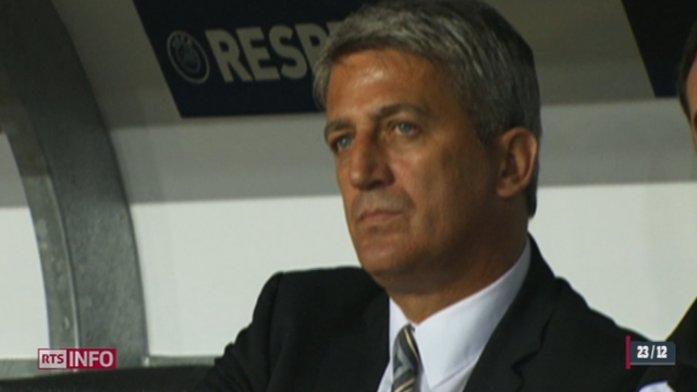 Football: le nouveau sélectionneur de l'équipe Suisse est Vladimir Petkovic [RTS]