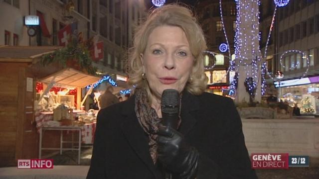 Stress avant Noël: les explications de Jacqueline Girard-Frésard, psychologue [RTS]