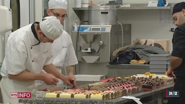 Noël donne un travail fou aux boulangers [RTS]