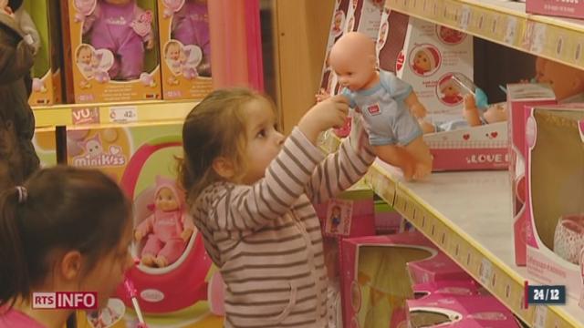 Noël: les jouets pour enfants connaissent toujours une classification par genre [RTS]