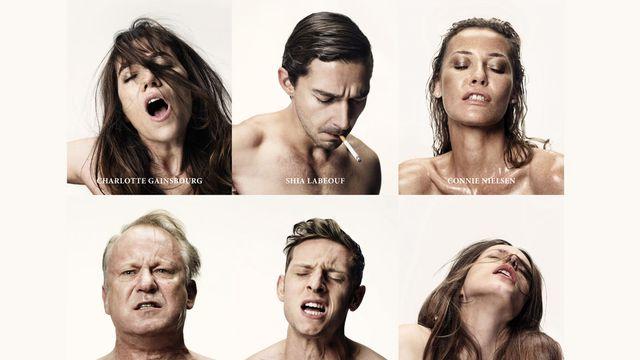 """L'affiche de """"Nymphomaniac"""", le dernier film de Lars Von Trier. [www.allocine.fr]"""