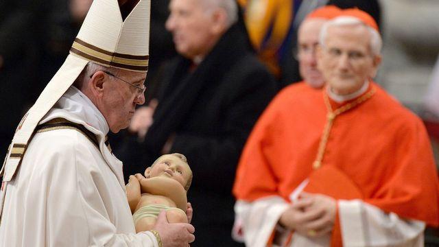 """Le pape François a insisté sur la proximité avec les """"marginalisés"""". [Ettore Ferrari - EPA/Keystone]"""