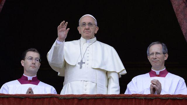 Le pape François a notamment dénoncé le fléau des enfants soldats. [AFP]