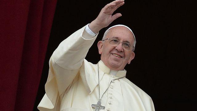 Les conflits en Afrique ont tenu une place centrale dans le discours du pape François. [Filippo Monteforte - AFP]