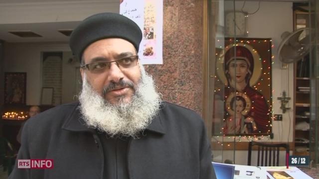 Les célébrations de Noël se sont déroulées dans un climat très particulier pour les chrétiens d'Égypte [RTS]