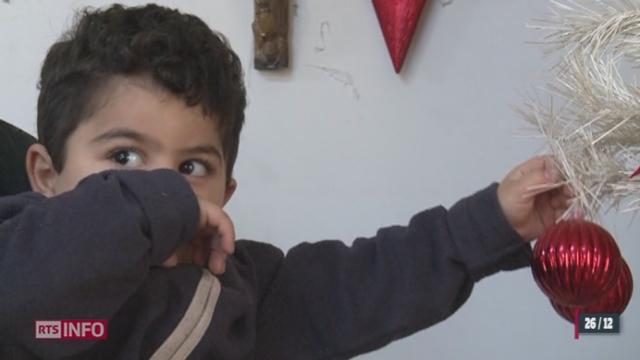 Des milliers de réfugiés syriens ont été forcés de passer Noël loin de chez eux [RTS]