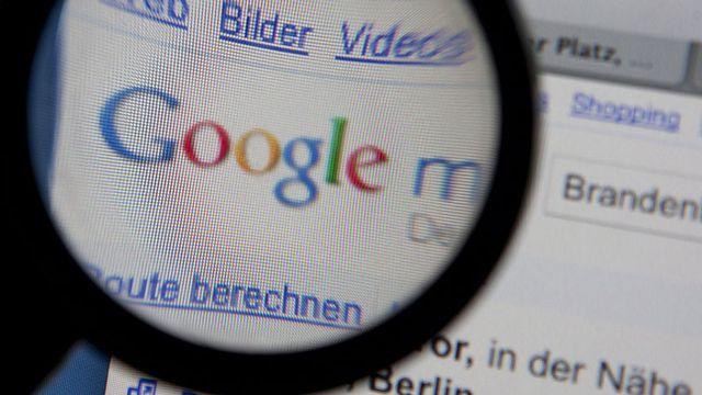 Google est dans le viseur de l'Europe. Joerg Sarbach/dapd Keystone [Joerg Sarbach/dapd]