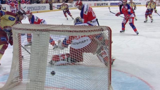 CSKA Moscou - Genève-Servette (0:2): Hollenstein marque le 2 à 0 [RTS]