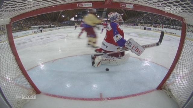 CSKA Moscou - Genève-Servette (0:3): Genève creuse l'écart avec un but de Petrell [RTS]