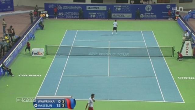 Tennis: destins contrastés pour Stan Wawrinka, vainqueur à Chennai (Inde), et Roger Federer, battu à Brisbane (Australie) [RTS]