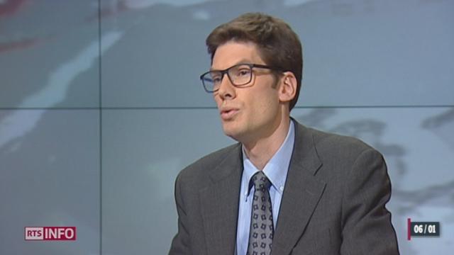 La Banque nationale suisse perd neuf milliards de francs: les explications de Ron Hochuli [RTS]