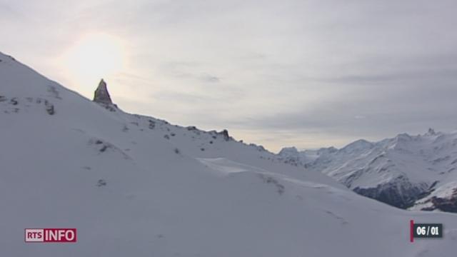 Quatre personnes sont décédées dans des avalanches en Valais [RTS]