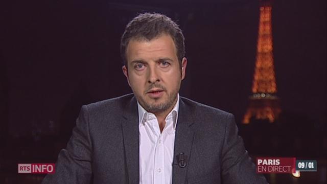 Affaire Dieudonné: les précisions de Michel Beuret à Paris [RTS]