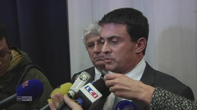 Valls commente l'interdiction du spectacle de Dieudonné [RTS]