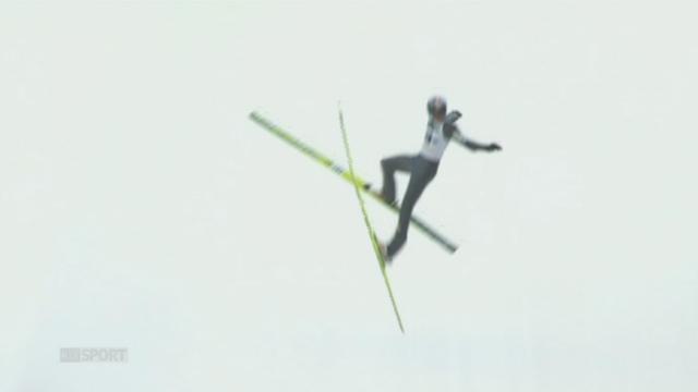Saut à skis-l'Autrichien Thomas Morgenstern s'est grièvement blessé lors d'un entraînement à Kulm (Autriche) [RTS]