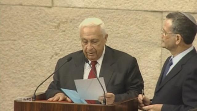 La vie d'Ariel Sharon en images [RTS]
