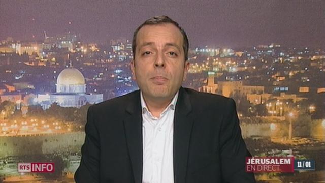 Décès d'Ariel Sharon: les précisions de Stéphane Amar, à Jérusalem [RTS]