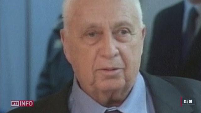 Israël: Ariel Sharon est décédé [RTS]
