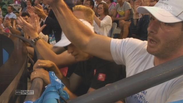 Djokovic - Lacko (6-3 7-6) : balle de 2ème manche [RTS]