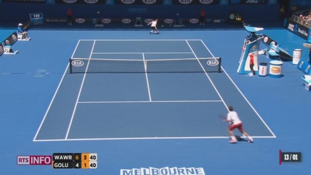 Tennis: le point sur l'Open d'Australie avec Pierre-Alain Dupuis [RTS]