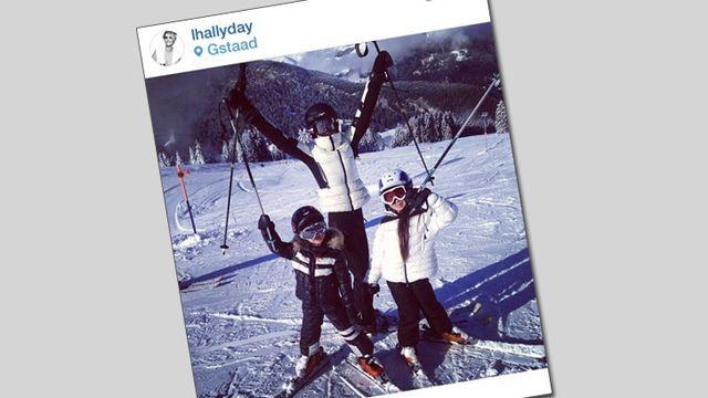 Une photo publiée par Laeticia Hallyday sur Instagram. [Instagram]