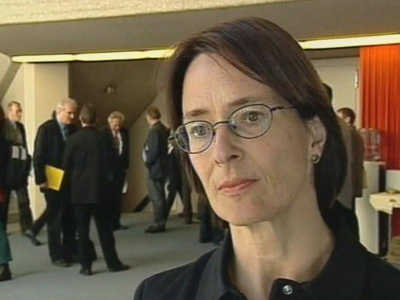 Une décision, enfin: la socialiste Barbara Haering Binder réagit. - 5507147