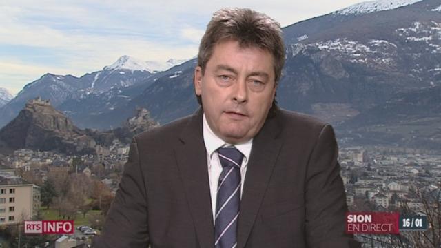 Scandale à Leytron: l'analyse de Alexandre Bochatay [RTS]