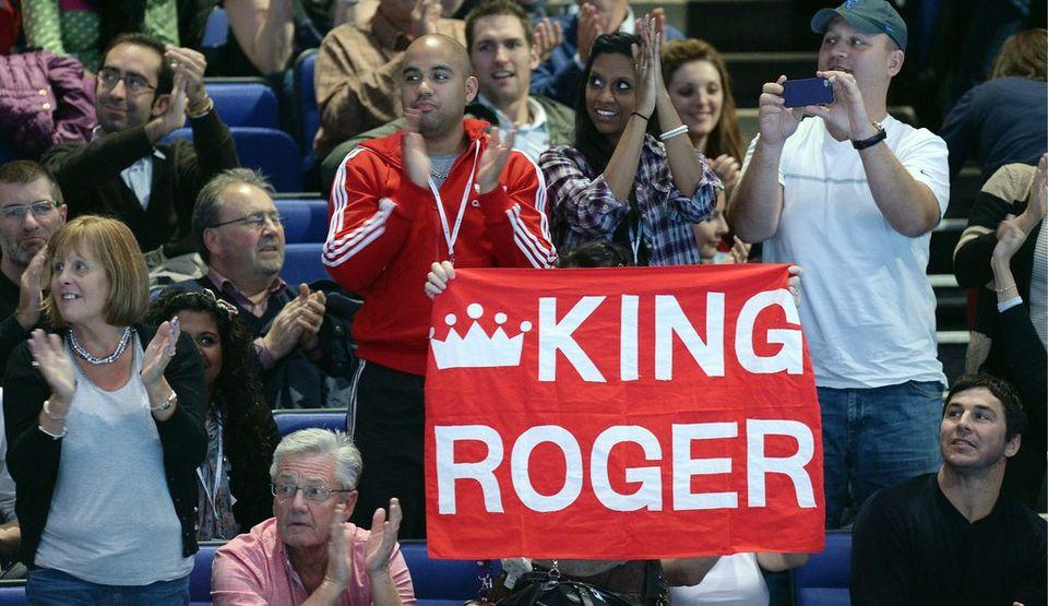 """King Roger"" laissera un grand vide lorsqu'il mettra un terme à sa carrière [Andy Rain - Keystone]"