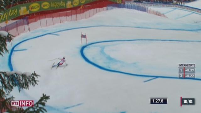 Coupe du monde de ski - Descente de Wengen: Küng dompte la descente du Lauberhorn [RTS]