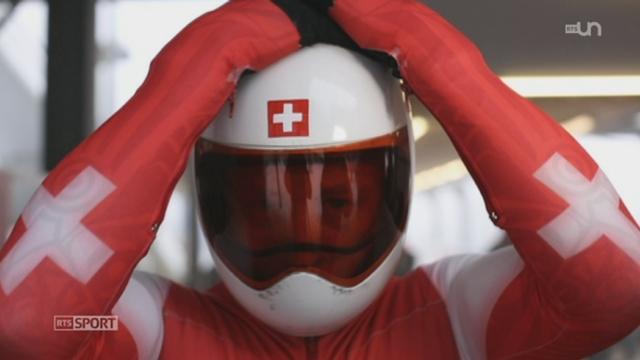 Le mag: découverte du skeleton, un sport suisse, à ne pas confondre avec la luge [RTS]