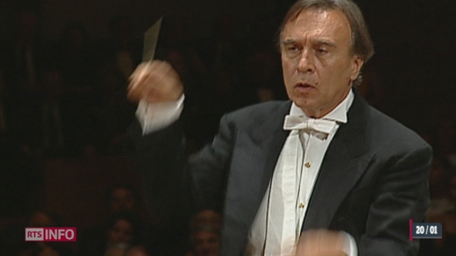 Suite au décès de Claudio Abbado, les éloges se multiplient de Milan à Lucerne [RTS]