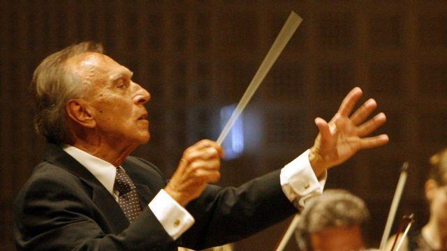 Le chef d'orchestre italien Claudio Abbado. [Urs Flueeler - Keystone]