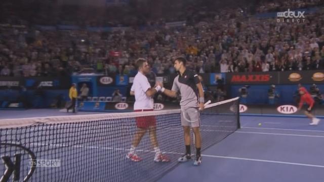 Wawrinka – Djokovic (2-6, 6-4, 6-2, 3-6, 9-7): historique victoire de Wawrinka [RTS]