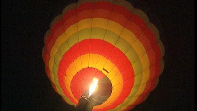 En montgolfière... [RTS]