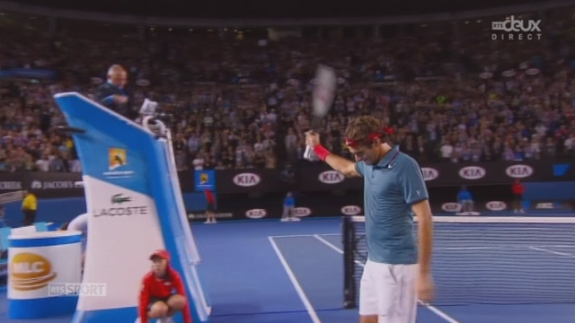 Federer – Murray (6-2, 6-4, 6-7, 6-3): la troisième sera la bonne après 3h19 de jeu Federer retrouvera Nadal vendredi [RTS]