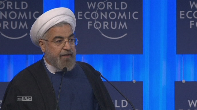 Le discours de Hassan Rohani au WEF à Davos [RTS]
