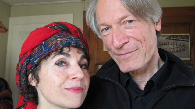 Catherine Azad et Frédéric Gonseth. [Jean-Pierre Amann]