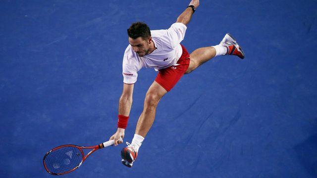 Wawrinka affrontera dimanche Federer ou Nadal. [David Gray - Reuters]
