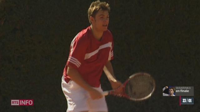 Tennis: retour sur le parcours de Stanislas Wawrinka [RTS]