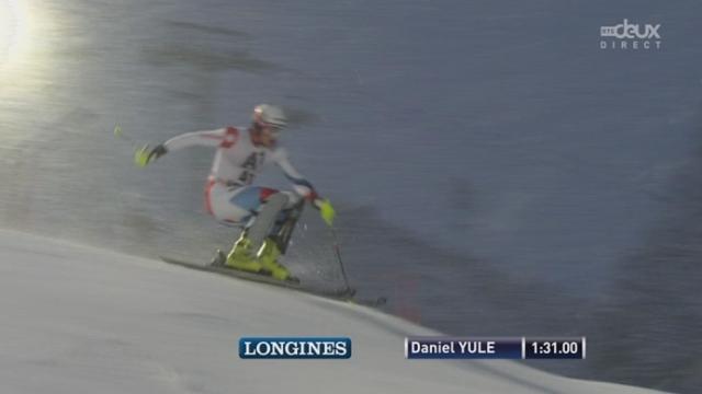 Slalom messieurs, 2e manche: Daniel Yule [RTS]