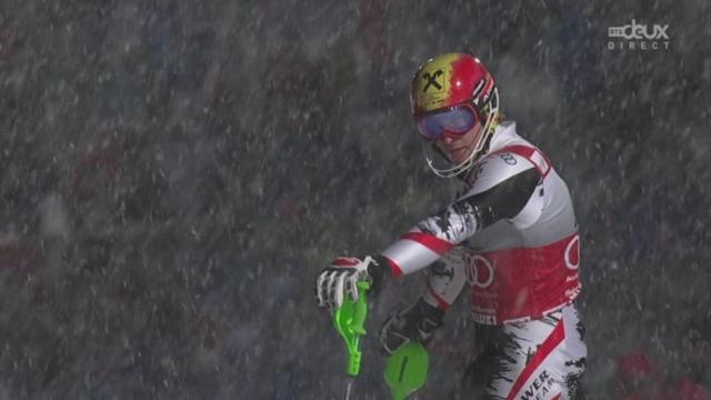Slalom messieurs, 2e manche: grosse déception pour Marcel Hirscher [RTS]