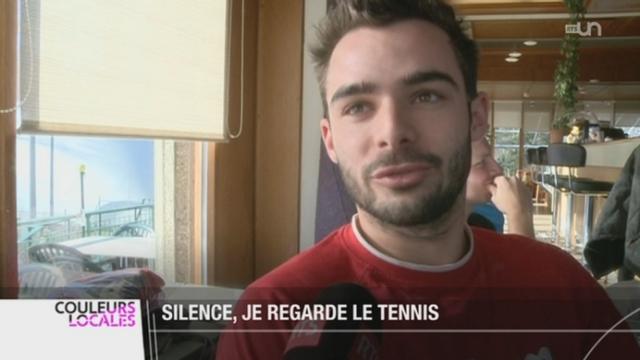 Tennis - Open d'Australie: les exploits des Suisses créent l'engouement en Suisse romande [RTS]