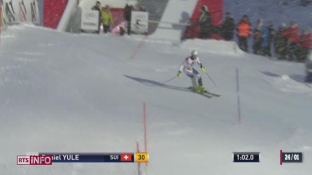 Coupe du monde de ski à Kitzbühel: les Valaisans Luca Aerni et Daniel Yule ont brillé [RTS]
