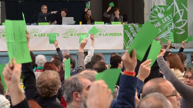Les Verts décident de lancer leur initiative sur les denrées alimentaires. [Gaël Klein - RTS]