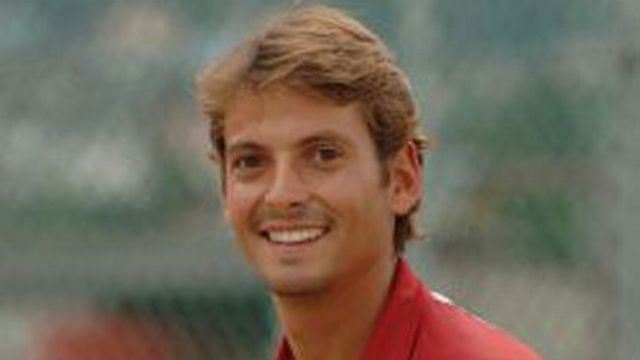 Yannick Fattebert, l'un des entraîneurs de Stanislas Wawrinka. [Tennis club Collombey-Muraz]