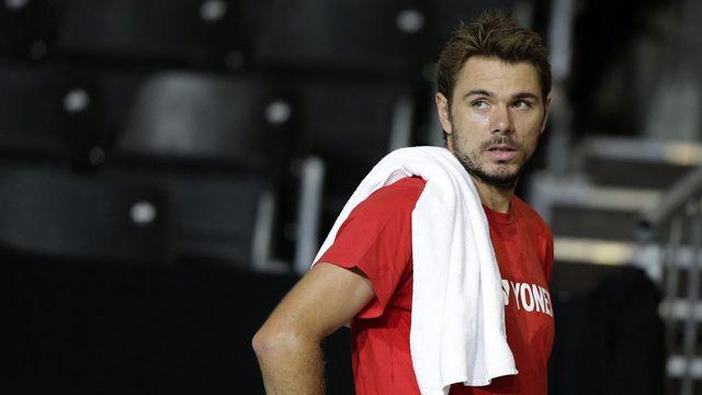 Wawrinka jouera vendredi déjà en Coupe Davis. [Salvatore Di Nolfi - Keystone]
