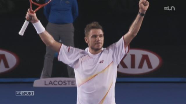 Tennis-Open d'Australie (finale): retour sur le triomphe de Wawrinka face à Nadal en quatre manches [RTS]