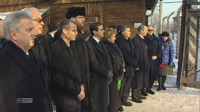 Une délégation de la Knesset à Auschwitz pour la journée en mémoire de l'Holocauste [RTS]