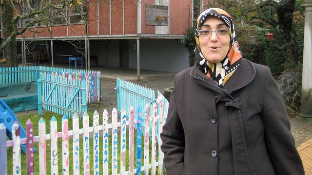 Naïma Serroukh a quitté le Maroc pour s'installer à Nidau il y a quinze ans. [Alain Arnaud - RTS]