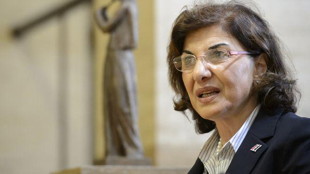 Bouthaina Chaaban est la conseillère politique de Bachar al-Assad. [Laurent Gilliéron - Keystone]